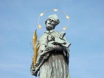 святой nepomuk john Стоковые Изображения