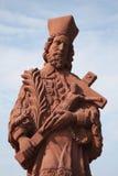 святой nepomuk john Стоковое Изображение