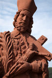 святой nepomuk john Стоковое Изображение RF