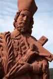 святой nepomuk john Стоковая Фотография