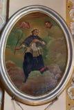 святой nepomuk john Стоковое Фото