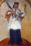 святой nepomuk john Стоковые Изображения RF