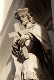 святой nepomuk john Стоковые Фото