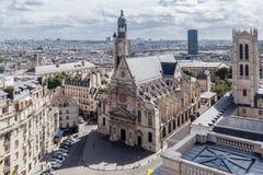 святой paris mont церков du etienne Стоковые Фото