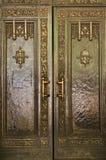 святой patrick s nyc латунной двери собора тяжелое стоковая фотография