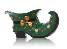святой patricks дня ботинка Стоковые Фото