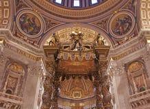 святой peter базилики стоковые изображения