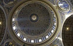 святой peter rome s купола базилики Стоковая Фотография