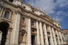 святой peter s базилики Стоковое Изображение