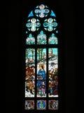 святой peter s стекла собора stainded окно стоковые изображения rf