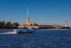 Святой Peterburg крепости Питера и Пола Стоковая Фотография