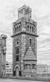 святой petersburg России моста okhtinsky Башня моста Bolsheokhtinsky Стоковые Изображения