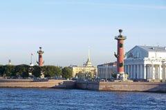святой petersburg России моста okhtinsky стоковые фотографии rf