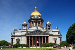 святой petersburg собора isaakiy Стоковая Фотография RF