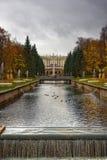 святой petersburg фонтанов стоковое фото rf