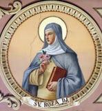 Святой Rosalia стоковые изображения