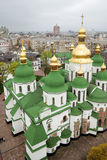 святой sofia kiev собора Стоковые Фото