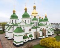 святой sofia kiev собора Стоковое Фото