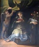 Святой Speciosa Павии стоковые фотографии rf