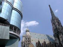 святой stephen купола wien стоковая фотография