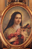 святой therese lisieux Стоковые Изображения RF