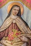 святой therese lisieux Стоковые Изображения