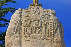 Святой Uzec менгира Стоковое Фото