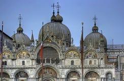 святой venice метки фасада basilika Стоковые Изображения RF