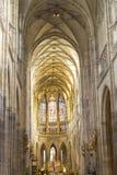 Святой Vitus в repuplic Праги чехословакское стоковое изображение