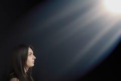 Святые лучи Стоковое Фото