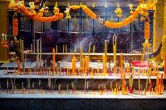 Святыня Бангкок Таиланд Erawan стоковая фотография rf