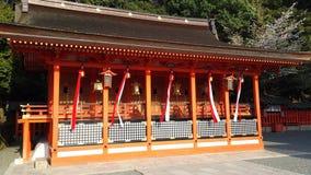 Святыня в Fushimi Inari Стоковые Фотографии RF