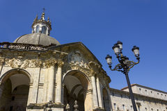Святыня и базилика Loyola Стоковые Фотографии RF