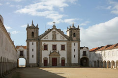 Святыня нашей дамы плащи-накидк Espichel, Португалии. стоковые фото