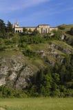 Святыня Санты Casilda, Ла Bureba, Бургос стоковое фото rf