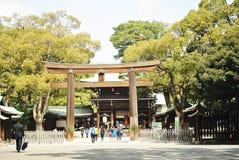 Святыня святыни Meiji в токио Стоковое фото RF