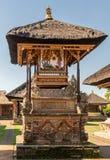 Святыня с картиной на виске Batuan, Ubud, Бали Индонезии стоковые изображения rf
