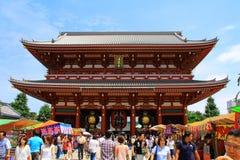святыня asakusa стоковое изображение