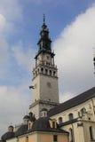 Святыня Czestochowa.Poland Jasna Gora Стоковое Изображение