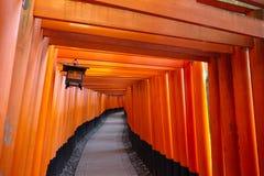 Святыня Fushimi Inari, Киото, Япония Стоковая Фотография RF