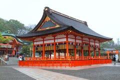 Святыня Fushimi Inari, Киото, Япония Стоковые Фотографии RF