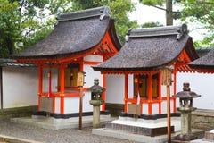 Святыня Fushimi Inari, Киото, Япония Стоковое Изображение RF