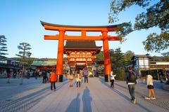 Святыня Fushimi Inari на Киото, Японии Стоковая Фотография