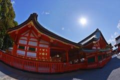 Святыня Fushimi Inari Стоковое Изображение