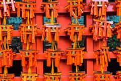 Святыня Fushimi Inari Taisha в Киоте, Японии Стоковая Фотография