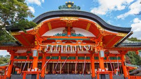 Святыня Fushimi Inari-taisha в Киото Стоковые Фотографии RF