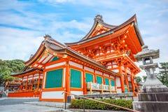 Святыня Fushimi Inari-taisha в Киото Стоковая Фотография RF