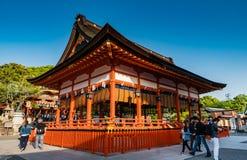 Святыня Fushimi Inari Taisha Стоковые Изображения RF