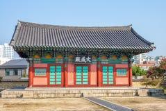 Святыня Hall Daeseongjeon hyanggyo Тэгу стоковые изображения