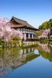 Святыня Heian в Киото стоковые фотографии rf